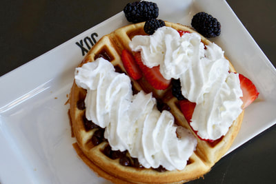XOC Tequila Grill Waffle