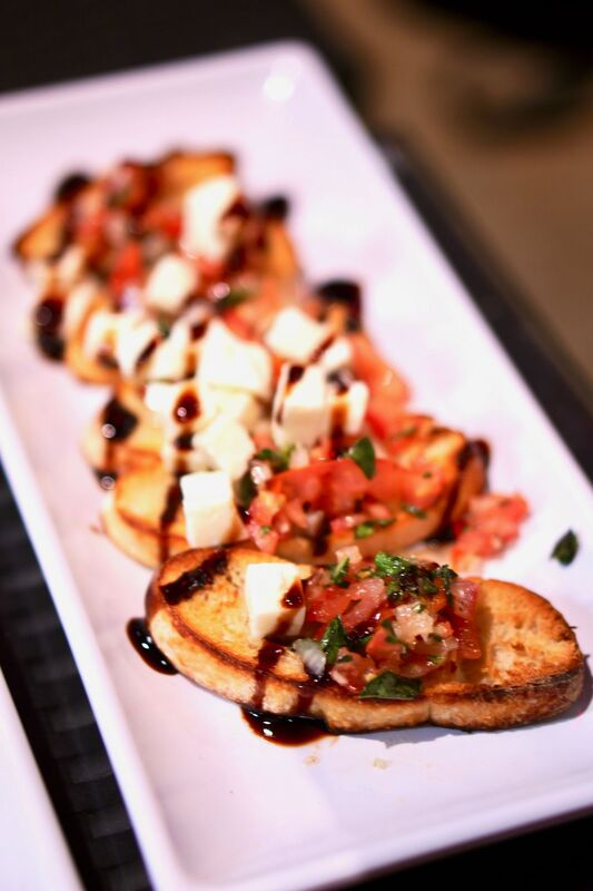 Bruschetta at The Dudes Brewing Co. Photo by The Foodie Biz